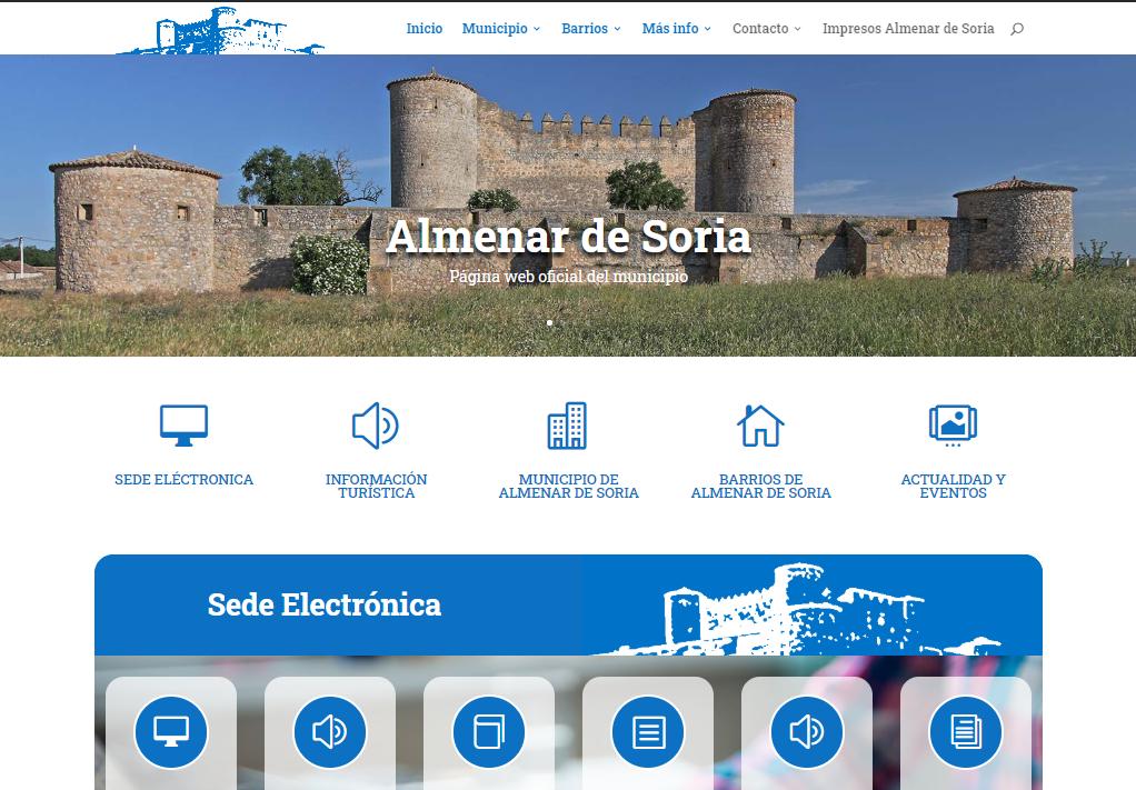 nueva web almenar